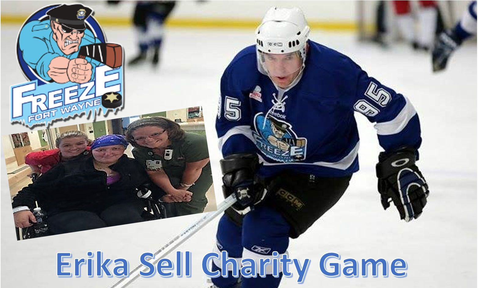 Erika Sell Charity Game