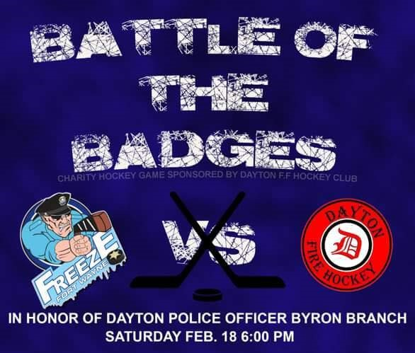 FWPD Freeze vs Dayton Fire Charity Game